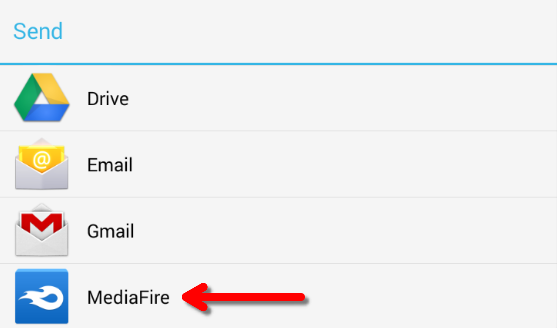 How do I upload content to MediaFire for Android? – Welcome